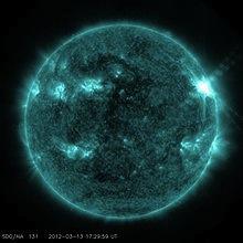 Влиянието на Слънцето и слънчевата активност върху Земята