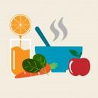 Хранене в различните етапи на настинка или грип