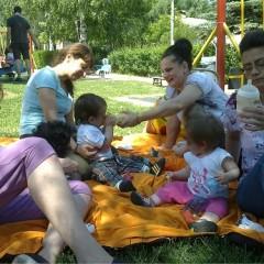 Първи пикник за малчуганите от Детска къща