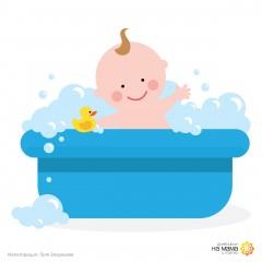 Къпане на новороденото