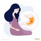 Киселини и рефлукс през бременността