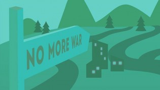 NO MORE WAR: Children workshops for peace