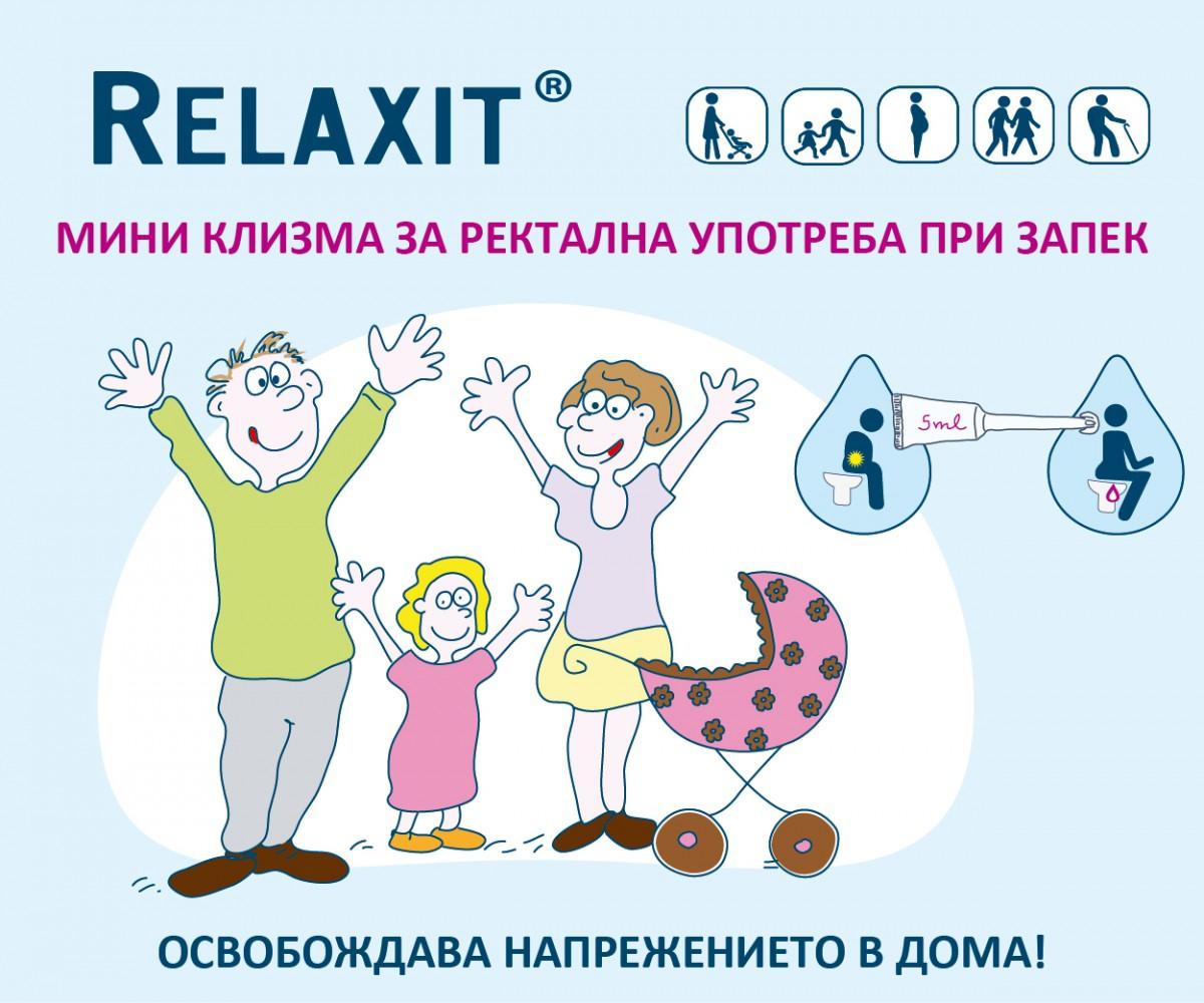 Relaxit - мини клизма за ректална употреба