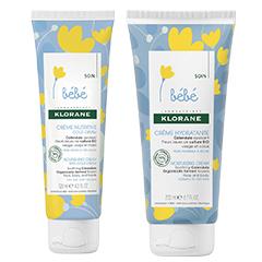 Натурална козметика KLORANE bebe грижа за кожата