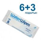 WaterWipes бебешки кърпички 6+3 подарък!